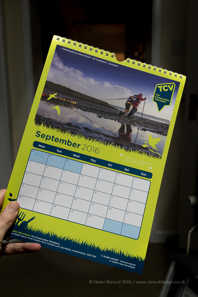 Calendar with my photo in