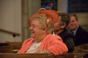 The joy of the parents - ISO6400, F5.6, 1/160sec