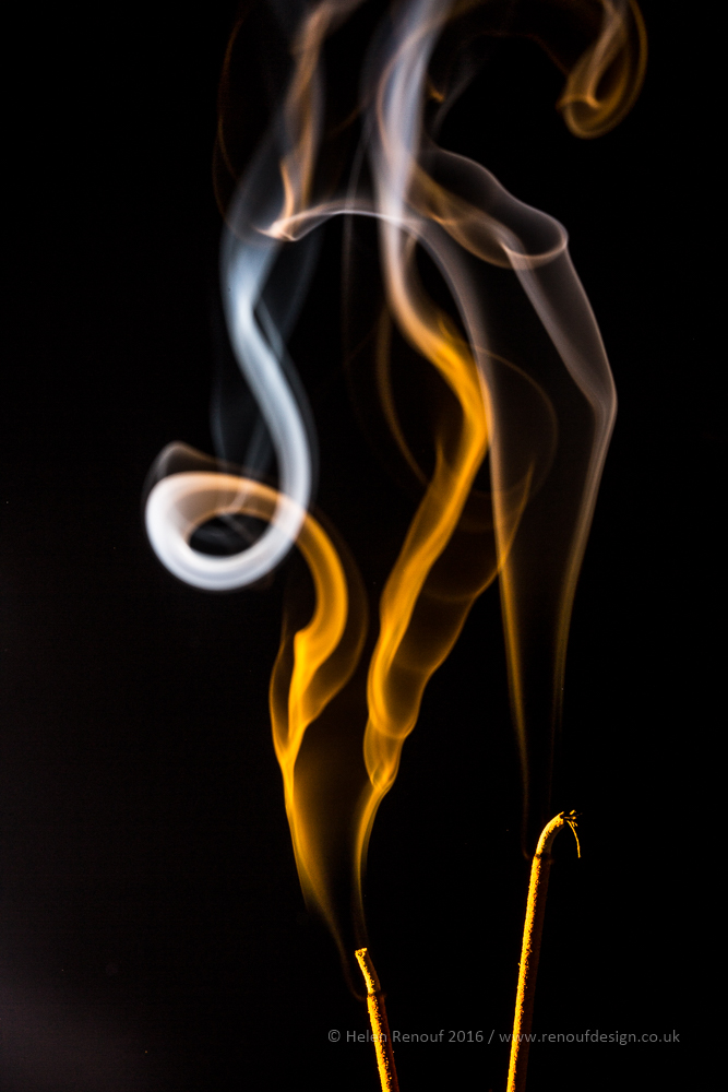 Yellow Smoke - ISO100, F14, 1/160sec