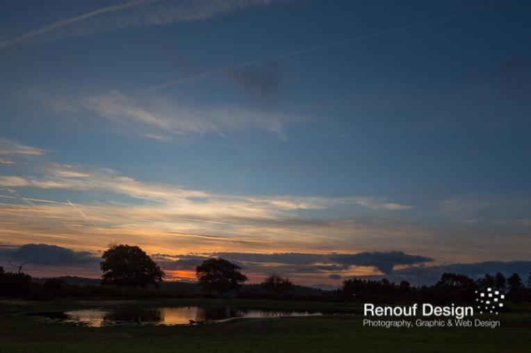 Dawn over the pond - 24mm Tilt shift lens